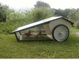 Movable Chicken House and Run