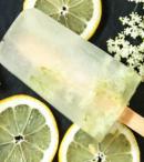 Homemade Elderflower Ice lollies