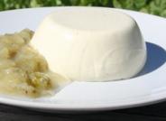 Homemade Elderflower Panna Cotta