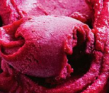 Homemade Elderflower and Raspberry Sorbet